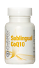 Sublingual CoQ10 with natural lemon flavor